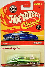 Hot Wheels Classics Series 4 #1/15 Evil Twin Green