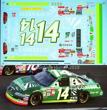 NASCAR DECAL #14 CONSENCO 2001 PONTIAC RON HORNADAY SLIXX