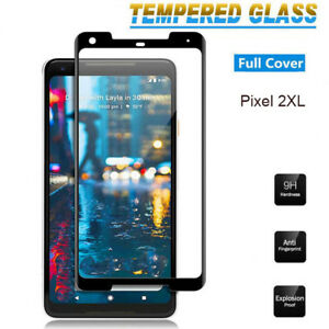 3D Curved Full Tempered Glass Screen Protector Guard Flim For Google Pixel 2XL