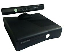 Xbox 360 Slim 4 GB with Kinect and Power Cables *Fully Functional*
