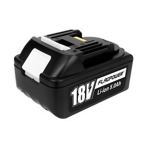 For Makita BL1850 18V 5.0Ah Lithium Battery BL1860B BL1830 LXT Cordless with LED