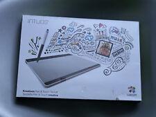WACOM Intuos Pen-Penna + Touch Taglia M argento USB Tavoletta grafica come nuovo con originalv.
