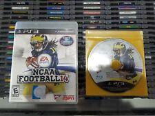 NCAA Football 14 (PlayStation 3, 2013) No scratches!