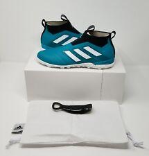 Adidas ACE Tango 17+ Purecontrol EQT Turf Soccer Shoe (US 11) Green/White/Black