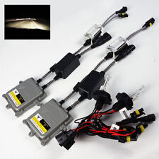 9004-2/HB1-2 4300K Stock White 55W Canbus Ballast HID Kit Hi/Low Beam Headlights