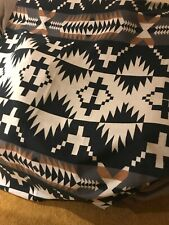Pendleton Home Collection Spider Rock Luxe Black Brown Gray Afghan Throw