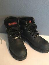 Harley Davison Women's Black Leather Riding Boots 6 NM