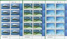 Lot of 2013 Cook Islands Stamps 1430 - 1435 Cat Val $87 Tropical Marine Park