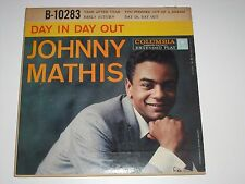 JOHNNY MATHIS-Day In, Day Out (1957) COLUMBIA 4-Track E.P.
