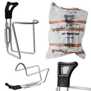 REG Silver Aluminium Bicycle Bottle Cage Holder Vintage New Old Stock Eroica 80s