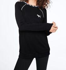 Victoria's Secret PINK Campus Crew Sweatshirt - Medium - VS Sweats NEW