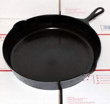 Griswold Erie Cast Iron Vintage Antique #12 Skillet Frying Pan PN 719 RARE