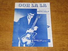 KEITH KELLY - OOH LA LA - ORIGINAL UK SHEET MUSIC