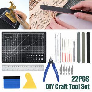 22Pcs Gundam Basic Tools Model Kit Hobby Building Modeler Starter Set DIY Craft