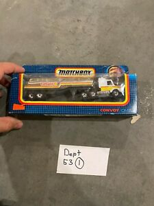 Matchbox Convoy CY-17 Scania Semi Truck with Shell Gasoline Trailer Boxed