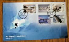 Ross Dependency THROUGH THE CAMERA LENS 2005 5 STAMP COMPLETE SET FDC VF UNADDR