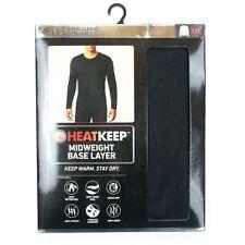 HeatKeep Midweight Base Layer Men's Long Sleeve Crew Neck (TMF98402HK) Navy XXL