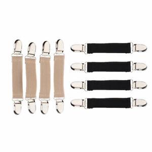 Lots 8 Multipurpose Kids Sturdy Stretchy Glove Mitten Clip Collar Clasp