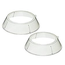 Kitchen Craft Microwave Cookware Stacking Plate Rings, Set of 2