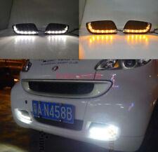 2x DRL Fog Light Lamp Daytime Running Light Set For Smart fortwo 2008-2011 W451