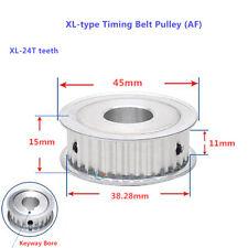 Xl Type Timing Belt Pulley Xl 24t Teeth Width 11mm Flat Synchronous Wheel Af