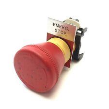 Eaton Cutler Hammer Emergency Stop Twist Release Pushbutton E22cb1 Contact 1nc