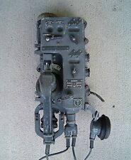 Vintage Soviet Russian Ussr Submarine Telephone Nautical Phone (Lot B)