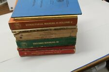 Lot Of 9 International Iron Worker Manuals Guides Books Structural Fabrication