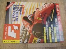 $$m Revue Motor Sports F1 N°21 Berger  Luca Badoer  Jordan