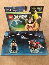 LEGO Dimensions DC Comics Bane Fun Pack (Drill Driver) 71240 New