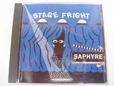 SAPHYRE - STAGE FRIGHT - RARE CD
