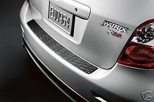 Toyota Matrix 2009 - 2013 Rear Bumper Protector - OEM NEW!