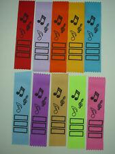 MUSIC AWARD RIBBONS,TEACHERS,STUDENTS,KIDS,MOTIVATIONAL