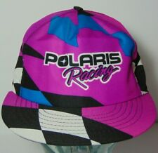 e072a1fe3c5cb New Old Vintage 1990s POLARIS SNOWMOBILE RACING RAD SNAPBACK HAT CAP MADE  IN USA