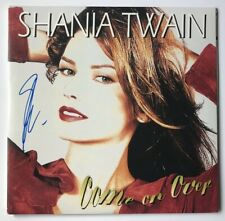 Shania Twain Signed Come On Over Vinyl LP JSA COA #EE88540 Auto Rare