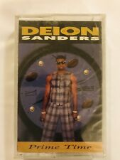 DEION SANDERS Primetime 1995 CASSETTE TAPE Sealed BRAND NEW