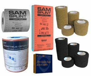 SAM SPLINT, SPLINTS, COHESIVE BANDAGE, ZINC OXIDE TAPE, Multi-Purpose Splints