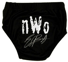 WWE WWF ERIC BISCHOFF HAND SIGNED AUTOGRAPHED WRESTLING TRUNKS WITH PROOF & COA