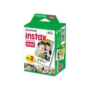 FujiFilm Instax Mini Instant Film Twin Pack (20 shots)  - OFFICIAL UK STOCK