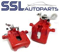 Ford Focus RS MK1 2002-2004 Pair Of RED Rear Remanufactured Brake Calipers