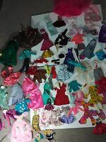 Barbie  Doll Clothes Lot Vintage, Modern, Handmade 70 Plus Pieces