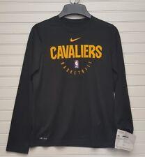 Nike NBA Cavaliers Youth Long Sleeve Dri Fit Size M NWT Sample
