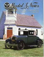"1928 Sport Coupe - Model ""A"" News Official Publication Vol.37 NO.2 1990 Magazine"