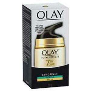 50 GRAMS OF OLAY 7 IN 1 TOTAL EFFECTS GENTLE OR NORMAL DAY CREAM OR NIGHT CREAM
