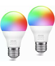NEW, SEALED 2-Pack Govee Smart WiFi LED Bulbs RGBWW Color Changing 70W Equival