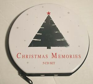 CHRISTMAS MEMORIES Box Set Of 5 CD'S - Jazz Country Classical Chidrens Family