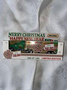 1994 MATCHBOX CONVOY MERRY CHRISTMAS/HAPPY NEW YEAR TRACTOR TRAILER HAULER NIP!