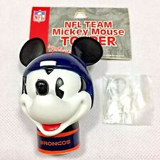 NFL Denver Broncos Mickey Mouse Antenna Topper New Package Disney Free Shipping