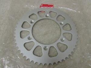 NOS 87-03 HONDA CR125R CR125 CR 125 OEM 53T REAR ALUMINUM SPROCKET 41204-KZ4-J20
