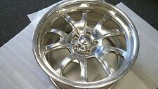 18x10 Raceline GT Polished Wheel 5x4.5 (5x114.3) single wheel for Ford Mustang